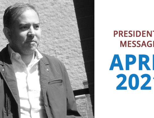 NOTE FROM THE RVN PRESIDENT – APRIL 2021