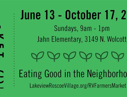 Roscoe Village Farmers Market – Every Sunday