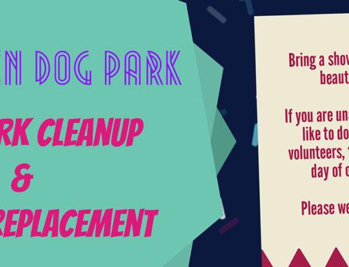 Hamlin Park Cleanup is May 15th at 9AM