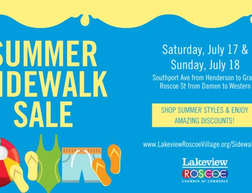 Roscoe Village Summer Sidewalk Sale
