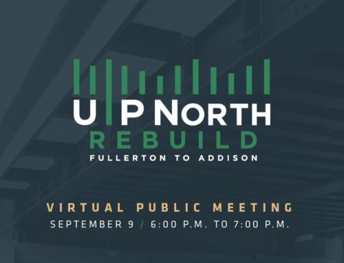 Metra UP-N Rebuild Virtual Meeting Sept. 9